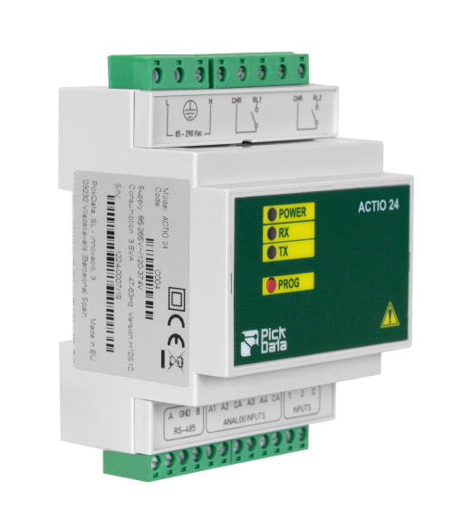 Multi Input Ouput Analog Digital Hub RS-485 Modbus RTU